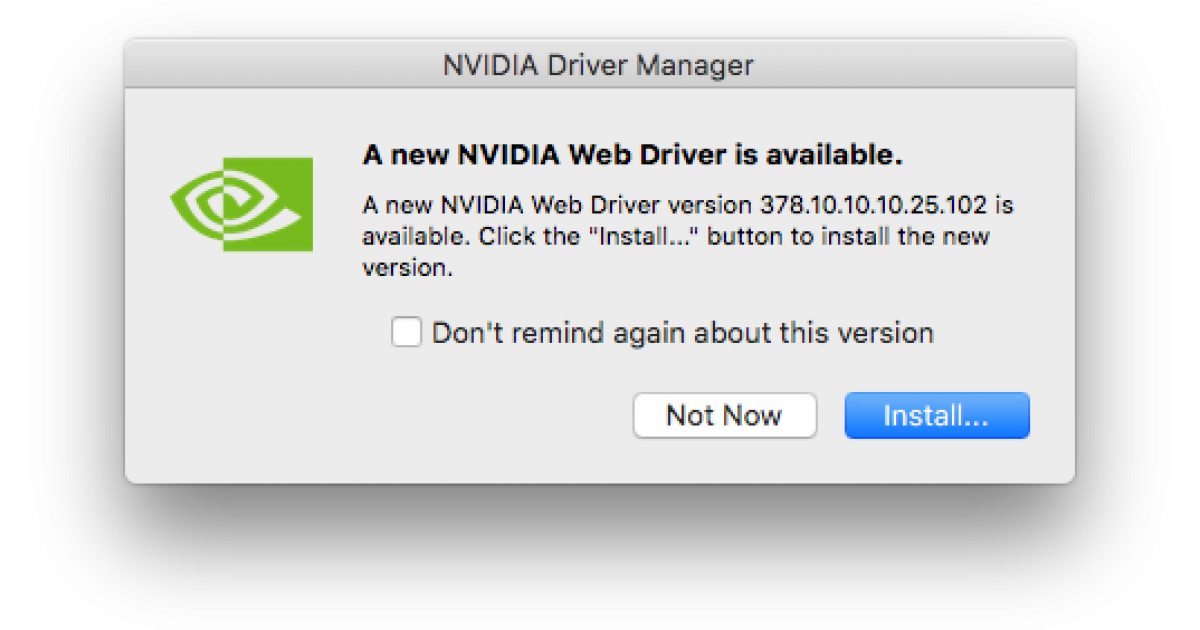 NVIDIA releases web drivers for macOS Mojave ! | Hackintosh Blog